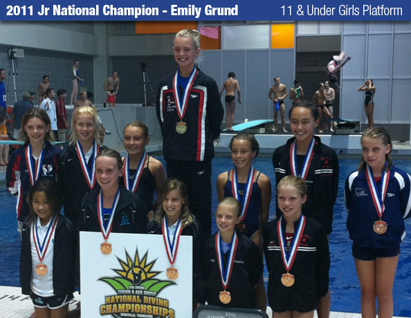 2011 Jr National Championship, Emily Grund